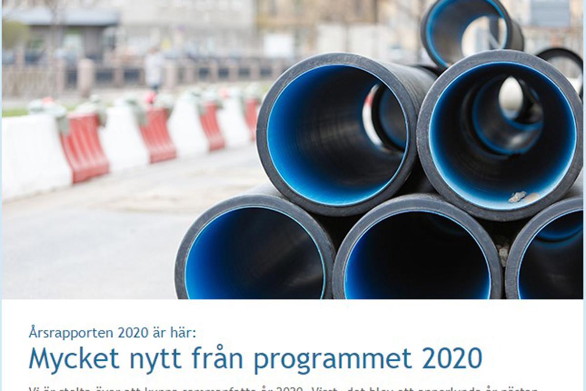 Skärmdump nyhetsbrev 2 2021
